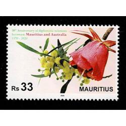 2020 Mauritius fiori congiunta (joint iusse) Australia