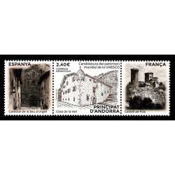 2020 Andorra francese Casa de la Vall UNESCO
