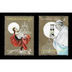 2020 Vaticano tematica Natale congiunta con Austria serie