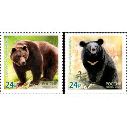 2020 Russia Fauna Orsi congiunta (joint iusse) Korea
