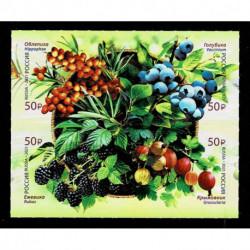 2021 Russia Tematica Flora: Frutti di bosco