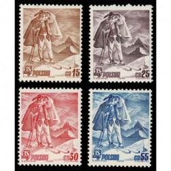 1939 Polonia Campionato Mondiale Sci Zakopane MH/*
