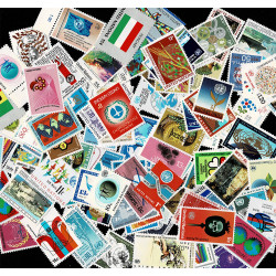 Nazioni Unite Lotto 100 francobolli nuovi differenti MNH/**