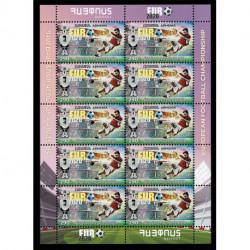 2021 Armenia Europei di calcio Euro 2020 Minifoglio