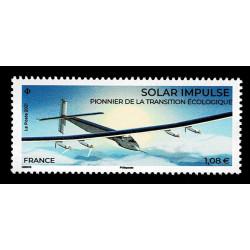 2021 Francia Green pionieri dei voli ad energia solare MNH/**