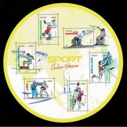 2021 Francia Foglietto Sport Couleur Passion