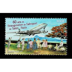 2021 Polinesia 60 anni aeroporto di Tahiti Faa'a