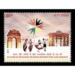 2021 India Emissione congiunta Germania - Joint iusse
