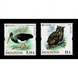 2021 Moldavia fauna nazionale - emissione Europa