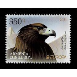 2021 Armenia fauna nazionale - emissione Europa