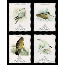1988 Azorre Uccelli nazionali - fauna