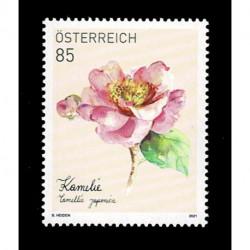 2021 Austria fiori la Camelia MNH/**