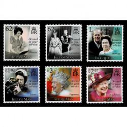 2021 Isle of Man vita della Regina Elisabetta II