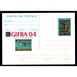 2004 Repubblica cartolina postale GIFRA '04