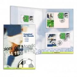 2004 Folder Campioni del Mondo di Calcio - Gli annali italiani