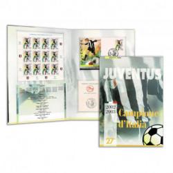 2003 Folder Juve Campione d'Italia 2002-2003 - Scudetto