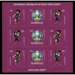 2021 Russia Europei di calcio 2020 minifoglio