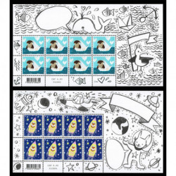 2021 Svizzera animali messaggeri minifogli