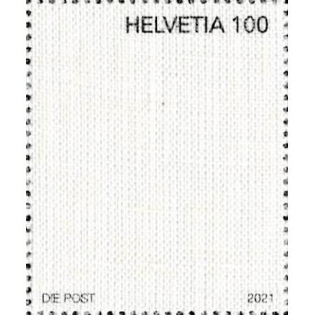 2021 Svizzera Unusual stamps francobollo di tela