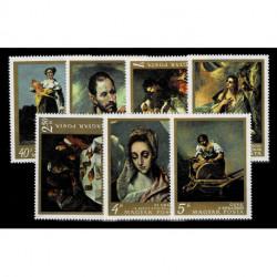 1968 Ungheria Pittura - artisti italiani e spagnoli museo di Budapest