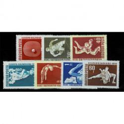 1958 Ungheria campionati europei di sport a Budapest