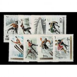 1955 Ungheria Posta Aerea Pattinaggio artistico MNH/**