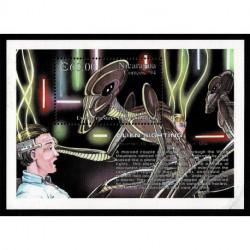 1994 Nicaragua Avvistamento alieno foglietto MNH/**