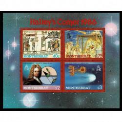 1986 Montserrat Cometa di Halley foglietto MNH/**
