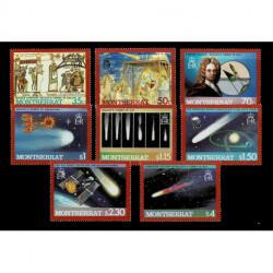1986 Montserrat Cometa di Halley serie MNH/**