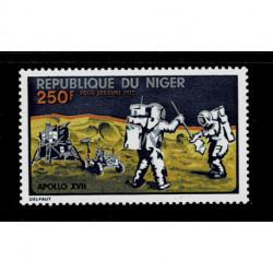1972 Niger missione spaziale Apollo XVII MNH/**
