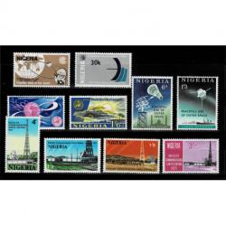 Nigeria francobolli nuovi tematica satelliti e telecomunicazioni MNH/**