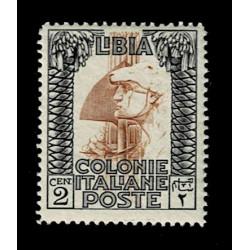 1924 Libia 2cent Pittorica Sas.45 nuovo MNH/**