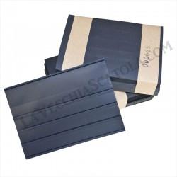 50 Cartoncini 4 listelli con pellicola protettiva 158x110