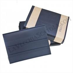 100 Cartoncini 3 listelli con pellicola protettiva 158x110
