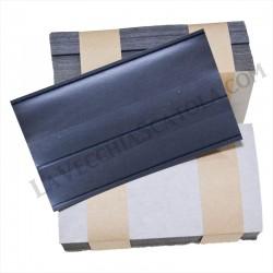 50 Cartoncini 2 listelli con pellicola protettiva 148x 85