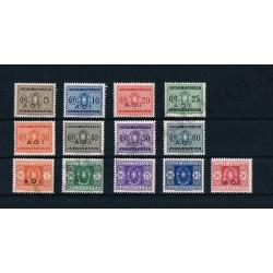 1939 A.O.I. Segnatasse serie completa 13v MNH/** - Bolaffi