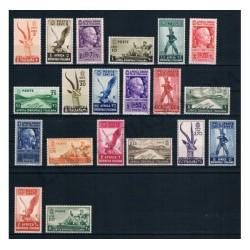 1938 A.O.I. Soggetti Vari 20v MNH/** - LUSSO