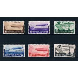 1933 Cirenaica PA Crociera Zeppelin MNH/**