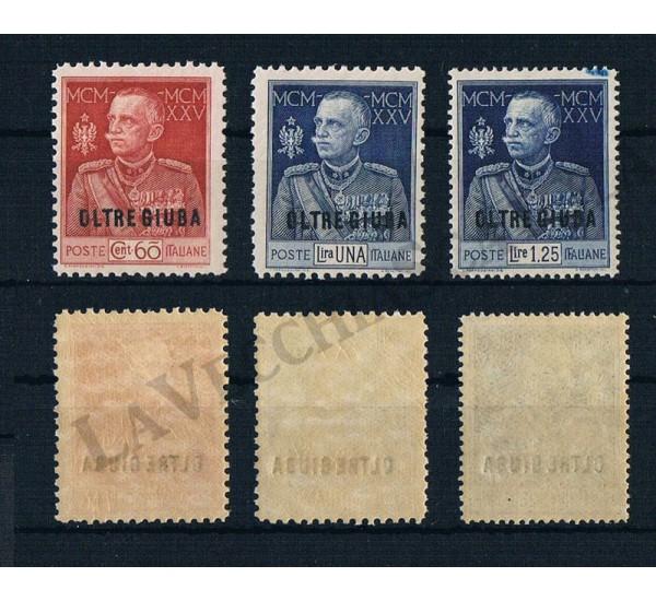 1925 Oltre Giuba Giubileo del Re MNH/**