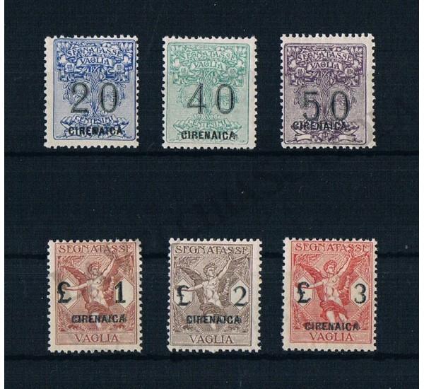1924 Cirenaica Segnatasse per Vaglia MNH/**