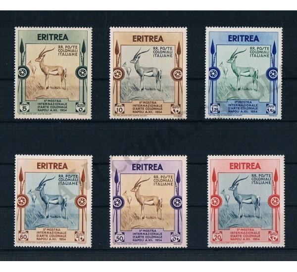 1934 Eritrea Mostra d'arte coloniale Napoli MNH/**