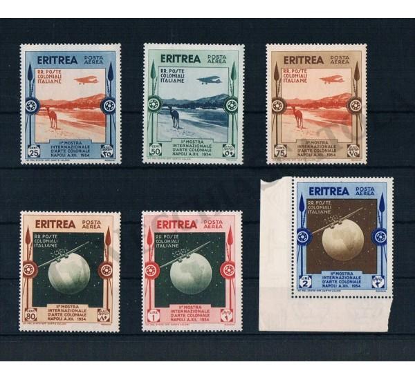 1934 Eritrea PA Mostra d'arte coloniale Napoli MNH/**