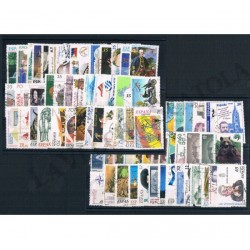 Spagna 5 cartoncini 200 usati anni 90