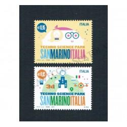 2015 Congiunta Italia San Marino Parco Scientifico MNH/**