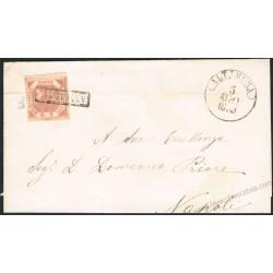 1859 Piego da Altamura a Napoli 2grana I° tav n.5d