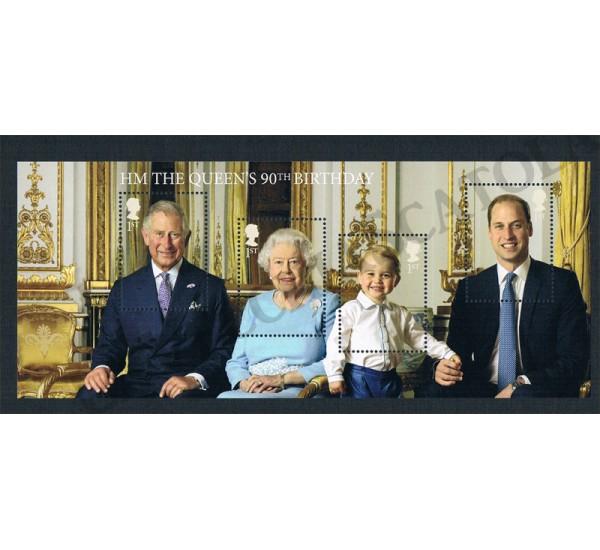 2016 Compleanno Regina Elisabetta The Queen