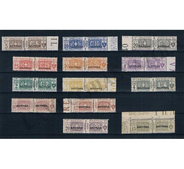 1917 Eritrea Pacchi Postali 13val MNH/** LUSSO