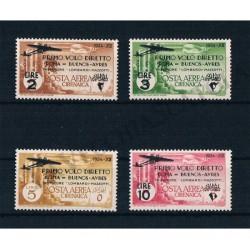1934 Cirenaica PA Volo Roma-Buenos Aires MNH/**