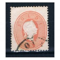 1861 ASI Lombardo Veneto 5 Soldi Sas.33