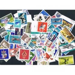 Germania DDR lotto di 100 francobolli differenti MNH/**